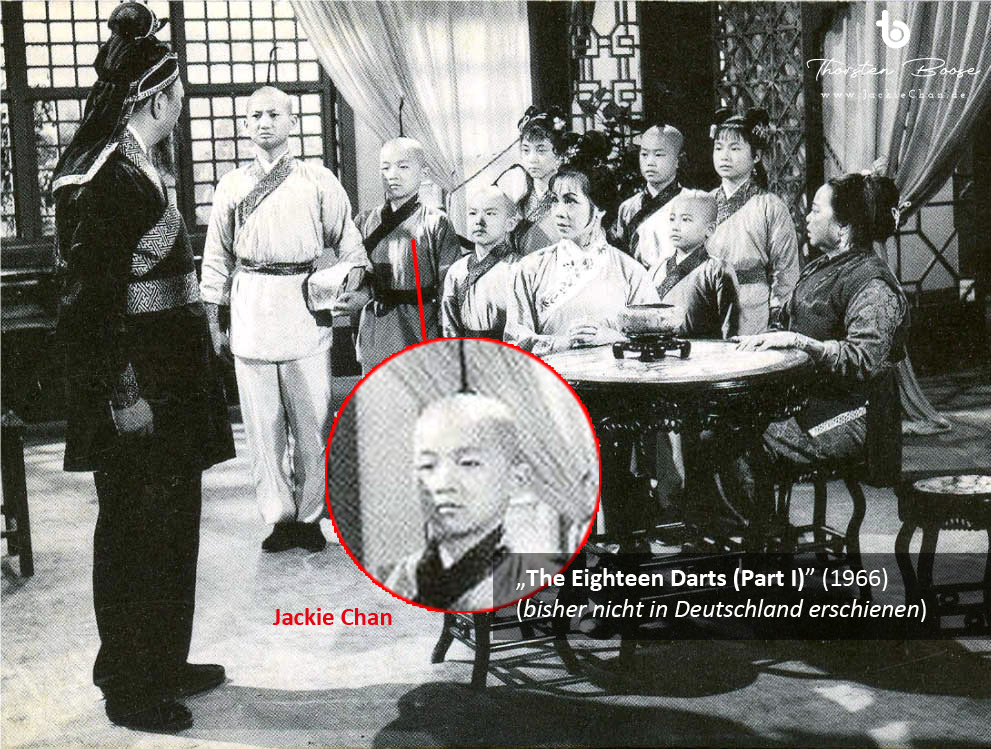 "Jackie Chan in the movie ""The Eighteen Darts (Part I)"" (1966) - copyright 1966 by Dali Film Company"