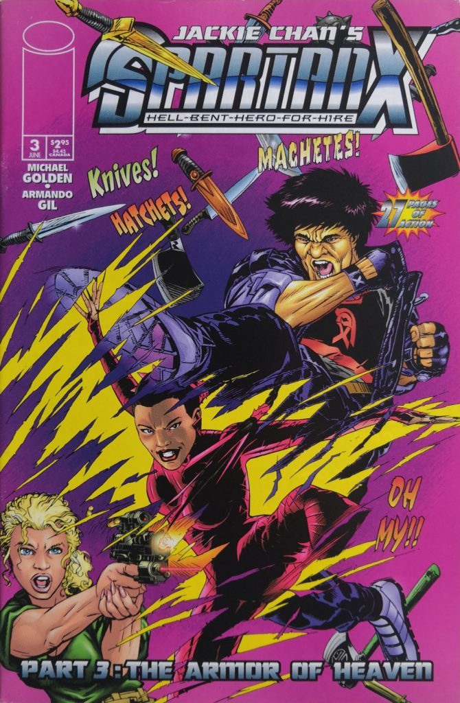 Issue 3: Part 3: The Armor Of Heaven released in May 1998