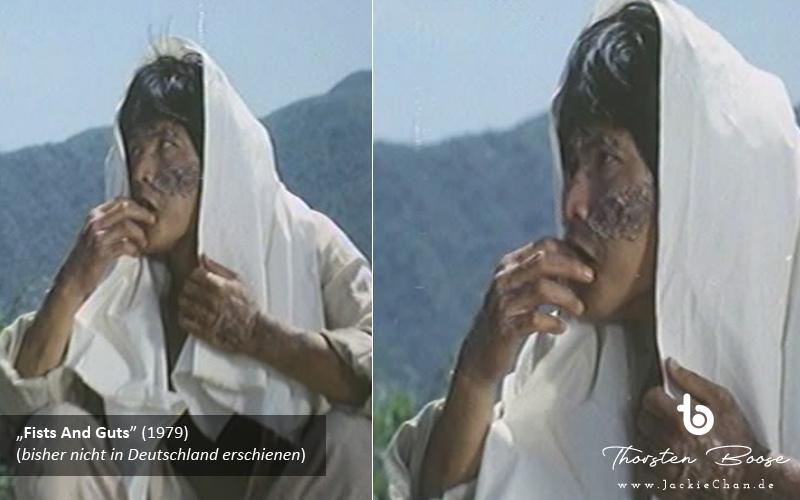 Der Lepra-König wird von den Filmhelden auf seiner Quarantäneinsel angesprochen und gibt sein entstelltes Gesicht in dieser kurzen Einstellung erstmals der Kamera preis (s1e1). Sieht aus wie Lam Hak-Ming.